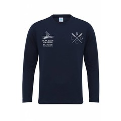 Lyme Regis Gig Club Gig Club Mens L/S T-shirt