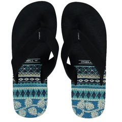 O'Neill Clothing Imprint Pattern Flip Flops