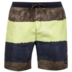 Protest Burn Boardies Washed Yellow