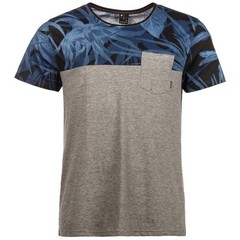 Protest Noize T-Shirt Dark Grey Melee