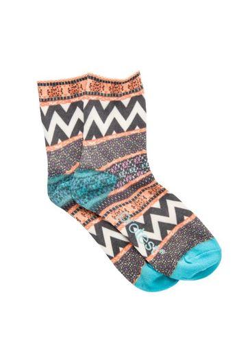 Protest Scibble Socks Seashell