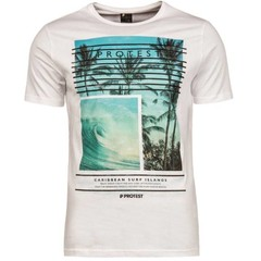 Protest Sector T-shirt Basic White