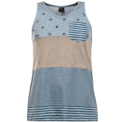 Protest Tech Tanktop Stone Blue