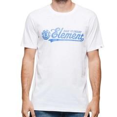 Element Signature SS T-Shirt Optic White
