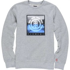 Element Rolling Crew Jumper Grey Heather