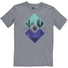 Element Intersect SS T-Shirt Grey Heather