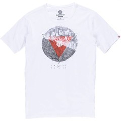 Element Central SS T-Shirt Optic White