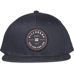 Billabong Rotor Snapback Cap Navy/Red