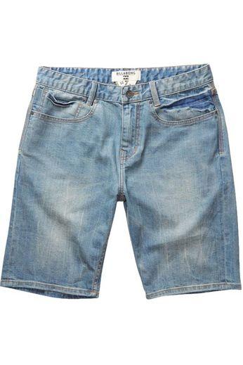 Billabong Outsider Denim Shorts Bleach Daze