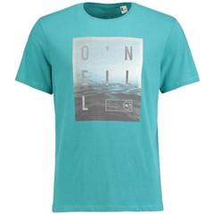 O'Neill Clothing Surface T-Shirt Green Blue Slate