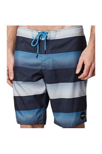 O'Neill Clothing Santa Cruz Stripe Boardies Blue AOP