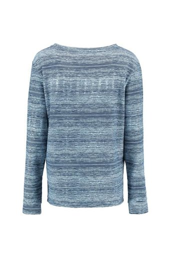 O'Neill Clothing Print Crew Jumper White AOP w/ Blue