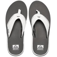 Reef Fanning Flip Flops Grey/White