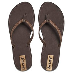 Reef Downtown Truss Flip Flops Dark Brown