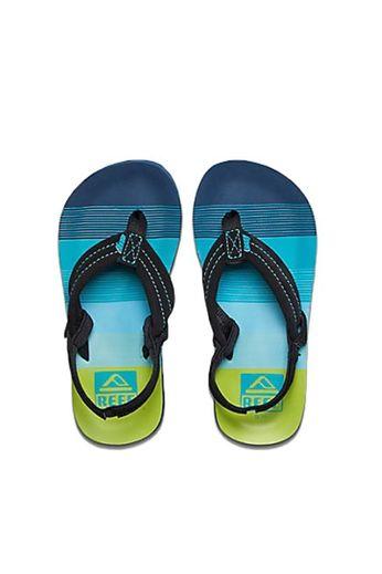 Reef Ahi Flip Flops Aqua/Green