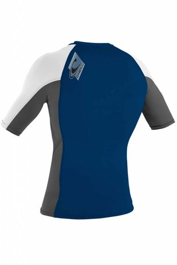 O'Neill Wetsuits Mens Skins Crew Rash Vest S/S