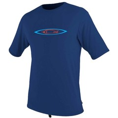 O'Neill Wetsuits Mens Skins Graphic Rash Tee S/S