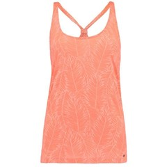 O'Neill Clothing Burn Out Top Fluoro Peach