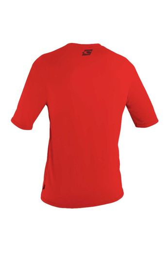 O'Neill Wetsuits Youth Skins Rash Tee S/S Red