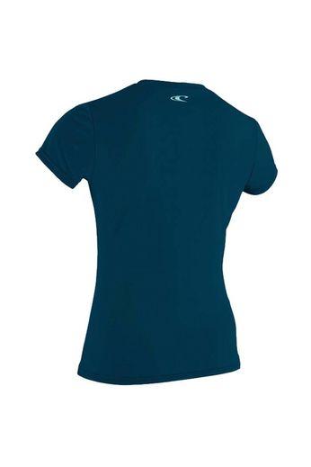 O'Neill Wetsuits Womens Skins Rash Tee S/S Slate