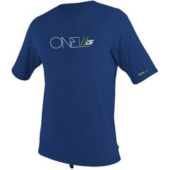 O'Neill Wetsuits Youth Skins Rash Tee S/S Navy