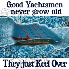 Nauticalia Greetings Card Good Yachtsmen