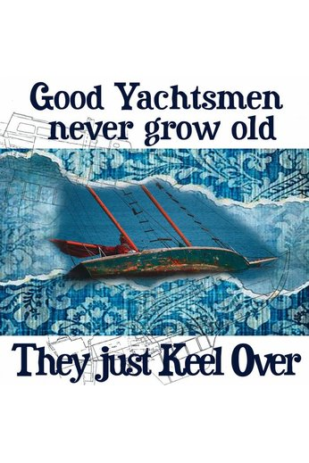 Nauticalia Greetings Card Good Yachtsmen