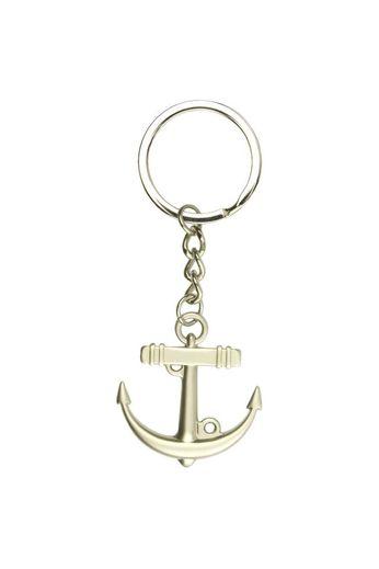 Nauticalia Anchor Silver Keyring