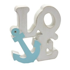 Nauticalia Love Word Anchor