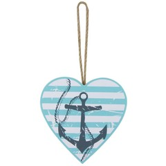 Nauticalia Anchor Hanging Heart