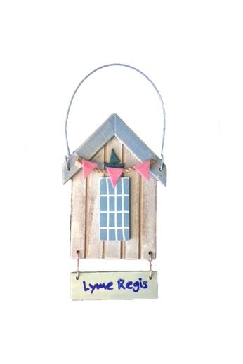 Nauticalia Assorted Hanging Beach Hut Lyme Regis