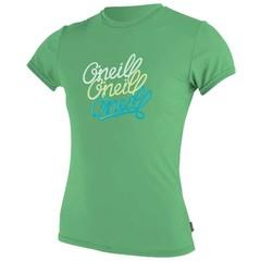 O'Neill Wetsuits Girls Skins Rash Tee S/S