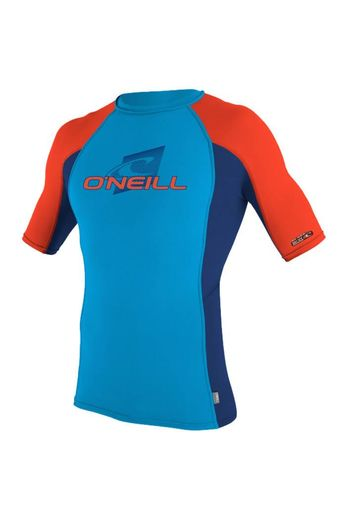 O'Neill Wetsuits O'Neill Wetsuits Youth Skins Rash Vest Sky S/S