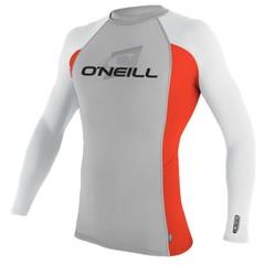 O'Neill Wetsuits L/S Crew Rash Vest Lunar