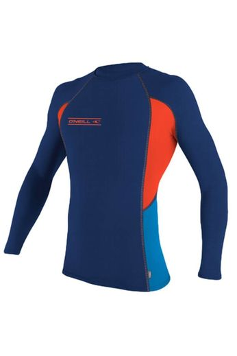 O'Neill Wetsuits O'Neill Wetsuits Skins L/S Crew Rash Vest Navy