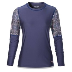 Dakine Flow Loose Fit L/S Rash Vest Furrow