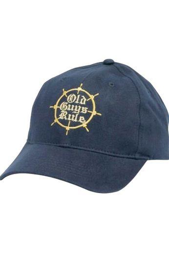Old Guys Rule Captains Wheel Cap
