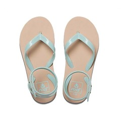 Reef Little Stargazer Flip Flops Mint Strap