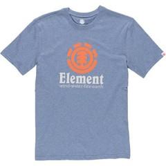 Element Vertical SS T-Shirt Midnight Blue Heather