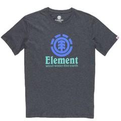 Element Vertical SS T-Shirt Charcoal Heather