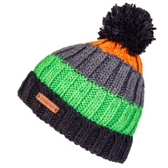 Protest Salcot 17 Bobble Beanie Hat Ground Blue