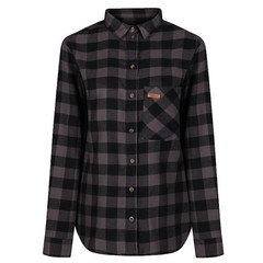 Passenger Roam Shirt Grey Check