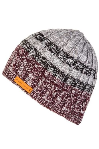 Protest Lust Beanie Hat Deep Orchid