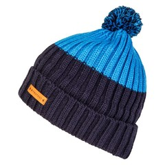 Protest Canon 17 Bobble Beanie Hat Mid Blue