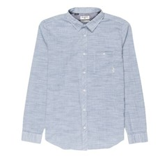 Billabong All Day Slub L/S Shirt Deep Blue