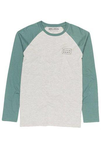 Billabong Die Cut L/S T-Shirt Grey Heather