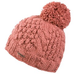 Dakine Mia Bobble Beanie Hat Burnt Rose