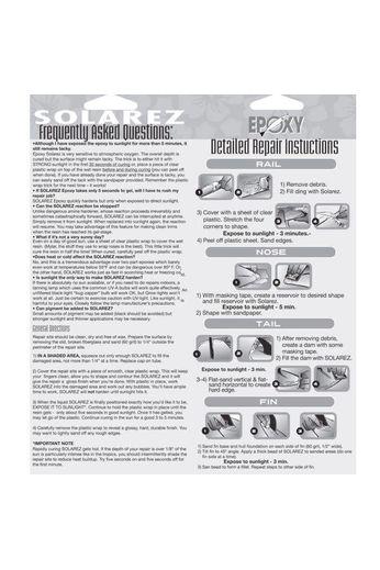 Solarez Resin - Ding Repair