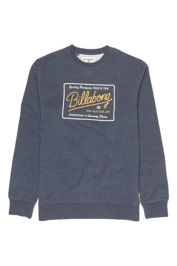 Billabong Baldwin L/S T-Shirt Navy