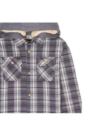 Billabong Curtis Quilted L/S Shirt Navy